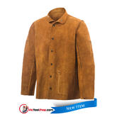 Welding Jacket Steiner Weld Cool Premium Leather Cowhide Welders Coat