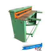 Sheet Metal Guillotine Jorg Manual Treadle Cutting Capacity 1250 x 1.6