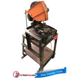 "Brobo Super 12"" Cold Saw on Fabricated Stand"