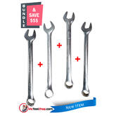 Urrea Open End Ring Spanner Set Metric Wrenches 21mm, 23mm, 25mm and 29mm