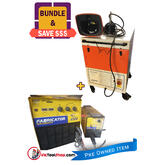 WIA MIG Welder Weldmatic 400 AMP with Kemper Filter Master Welding Exhaust Fan